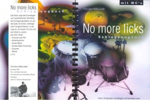 "Drumbook No more licks Christian ""Zecke"" Willeczelek"